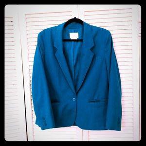 🎉$10 SALE🎉VTG PENDLETON turquoise work blazer